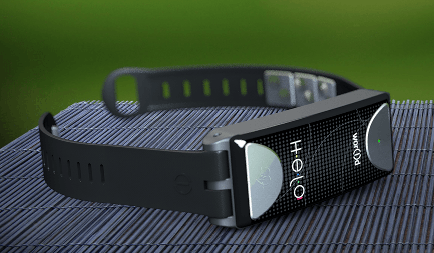 helo wristband by world tech review
