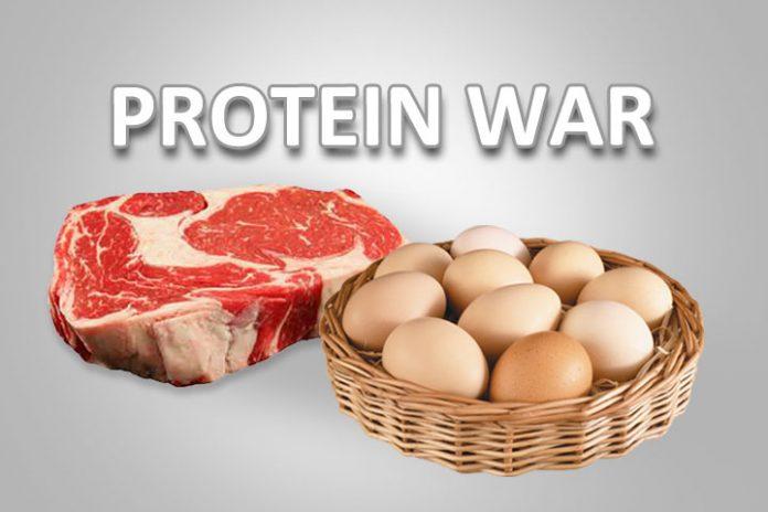protein war
