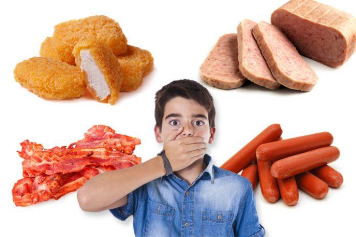 kids shouldnt eat